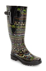Women's Sakroots 'Rhythm' Waterproof Rain Boot 1' Heel