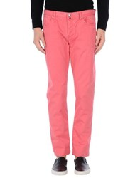 Jaggy Trousers Casual Trousers Men Coral