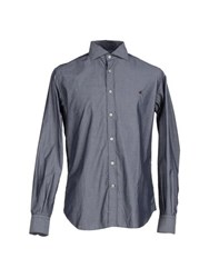Brooksfield Shirts Shirts Men Grey