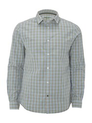 White Stuff Men's Heartland Double Check Shirt Blue Multi