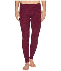 Beyond Yoga Spacedye Long Essential Leggings Black Plumberry Women's Casual Pants Burgundy