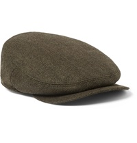 Musto Shooting Glendye Technical Tweed Flat Cap Green