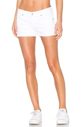 James Jeans Shorty Boyfriend Short White