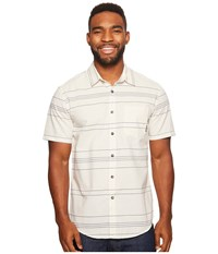 Billabong Flat Lines Woven Top Rock Men's Clothing Beige