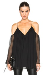 Camilla And Marc Enriched Top In Black