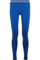 Lndr Tempo Stretch Knit Leggings Bright Blue