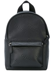 Heron Preston Contrast Strap Backpack Black