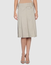 Gerard Darel 3 4 Length Skirts Light Grey