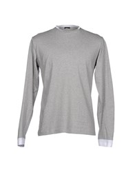 Master Coat Topwear Long Sleeve T Shirts Men Black