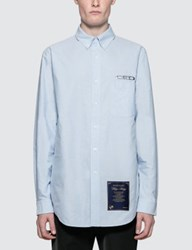 Alexander Wang Classic Shirt With Ceo And House Rules Patch