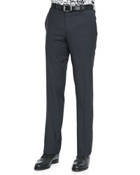 Etro Satin Stripe Wool Tuxedo Trousers