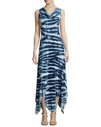 Xcvi Tie Dye Cowl Neck Maxi Dress Gravity