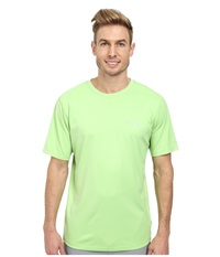 Columbia Pfg Zero Rules S S Shirt Jade Lime Men's Short Sleeve Pullover Green