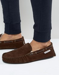 Lambretta Slippers In Brown Brown