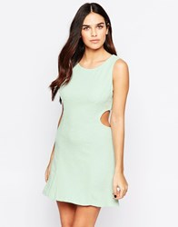 Pussycat London Pastel Dress Aqua