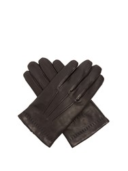 Mulberry Nappa Leather Gloves Black
