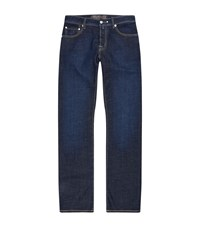 Jacob Cohen Straight Dark Wash Jeans Male