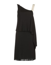 Pierantonio Gaspari Short Dresses Black