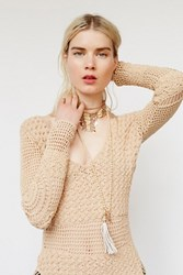 Free People Womens Riviera Collar Necklace