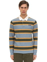 Patagonia Long Sleeved Lightweight Rugby Shirt Wooly Blue