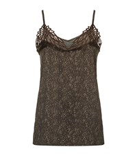 Hanro Adele Silk Camisole Female Brown