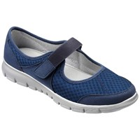 Hotter Hover Mary Jane Trainers Navy