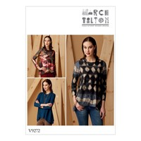 Vogue Knit Swing Tunics With Godets Sewing Pattern 9272