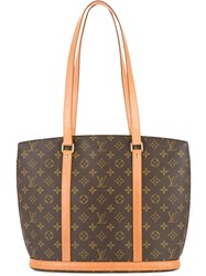 6c08f4d9b595 Louis Vuitton Vintage Babylon Monogram Tote Bag Brown