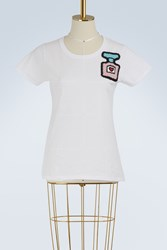 Michaela Buerger Perfume Cotton T Shirt White