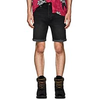 Ksubi Chopper Denim Cutoff Shorts Black