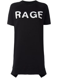 Zoe Karssen 'Rage' T Shirt Dress Black
