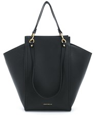 Coccinelle Madelaine Leather Tote Black