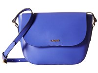 Lodis Blair Bailey Crossbody Violet Cobalt Cross Body Handbags Blue