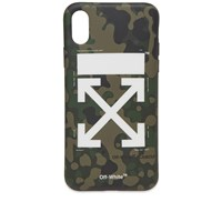 Off White Arrow Iphone X Cover Green