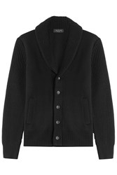 Rag And Bone Rag And Bone Merino Wool Cardigan Black