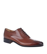 Stemar Chisel Punch Toe Oxford Shoe Male