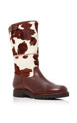 Penelope Chilvers Jackson Cowhide Boot Brown