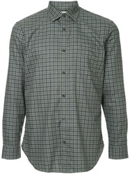 Kent And Curwen Checked Shirt Multicolour