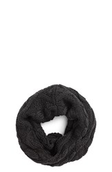 Canada Goose Women's Chunky Cable Wool Snood Graphite