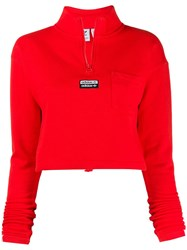 Adidas Zipped Up Jumper 60