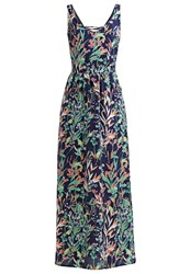 Morgan Maxi Dress Bleu Marine Dark Blue