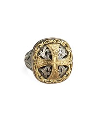 Square Cross Ring Konstantino Multi Colors