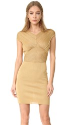 Antonio Berardi Sleeveless Dress Oro