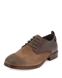 French Connection Filip Burnished Suede Oxford Sand