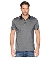 Perry Ellis Essential End On End Polo Black Clothing