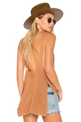 Ale By Alessandra X Revolve Noa Knit Tank Brown