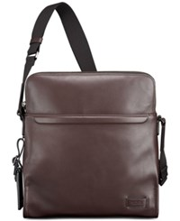 Tumi Men's Stratton Crossbody Bag Brown