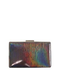Sondra Roberts Mirror Metallic Clutch Multi