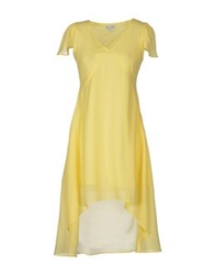 Kling Short Dresses Light Yellow