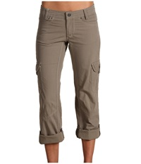 Kuhl Splash Roll Up Pant Khaki Women's Casual Pants